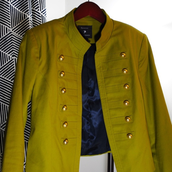 Forever 21 Jackets & Blazers - forever 21 military jacket